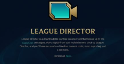 League Director(lol观战工具)